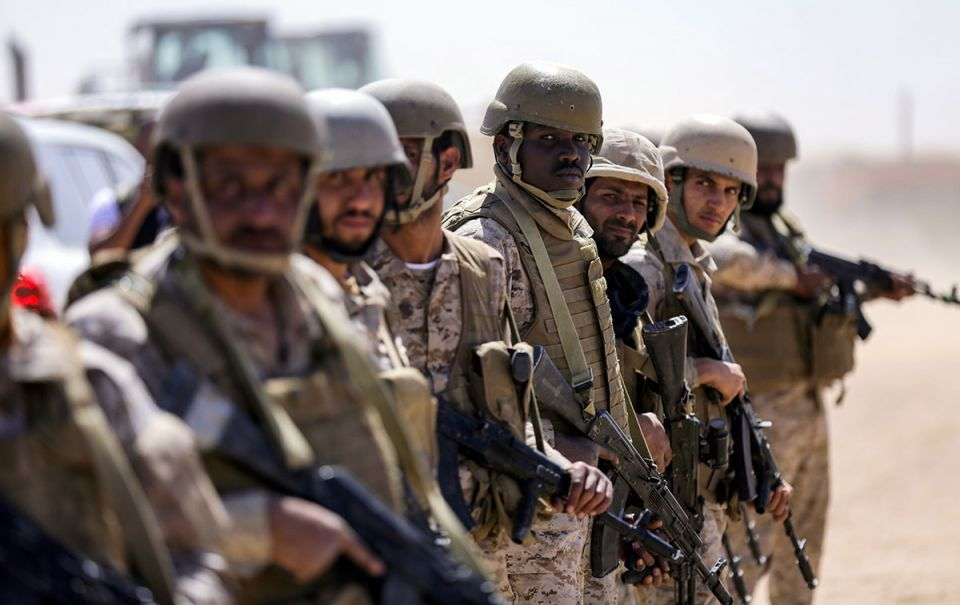 Saudi Arabia says women can join armed forces