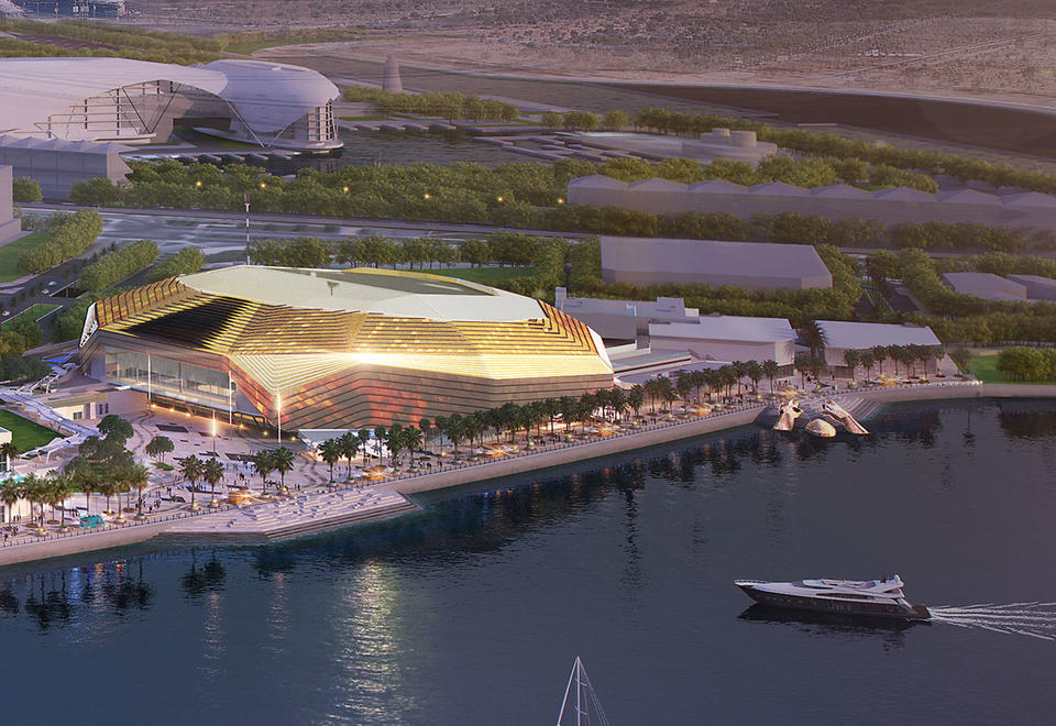 Developer Miral reveals Yas Bay construction progress