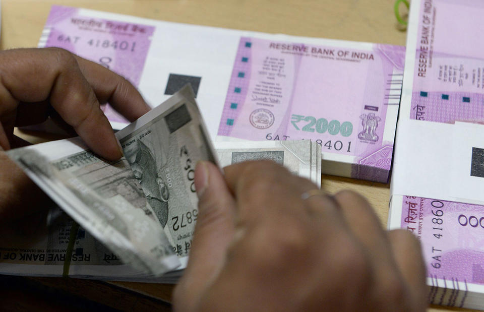 Rupee's latest fall impacted by India's Central Bank rates decision