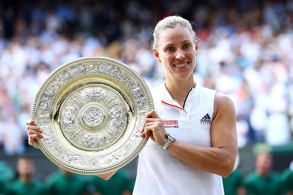 In pictures: Angelique Kerber of Germany defeat Serena Williams to win first Wimbledon title
