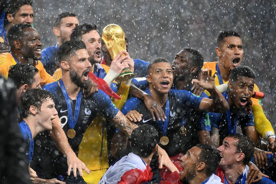 In pictures: France beat Croatia 4-2 in an incredible FIFA World Cup final in Moscow