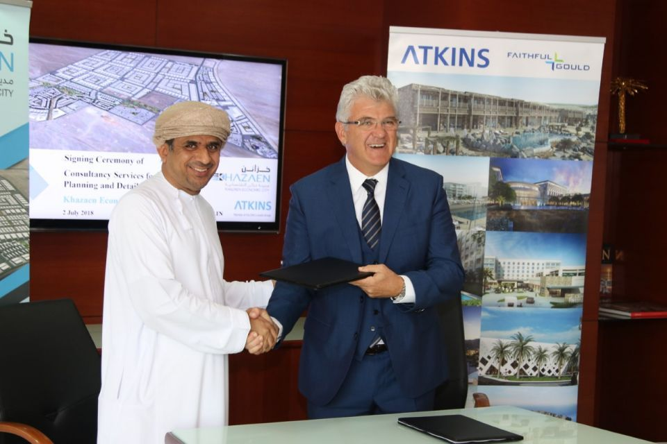 Atkins picked to plan first economic city in northern Oman