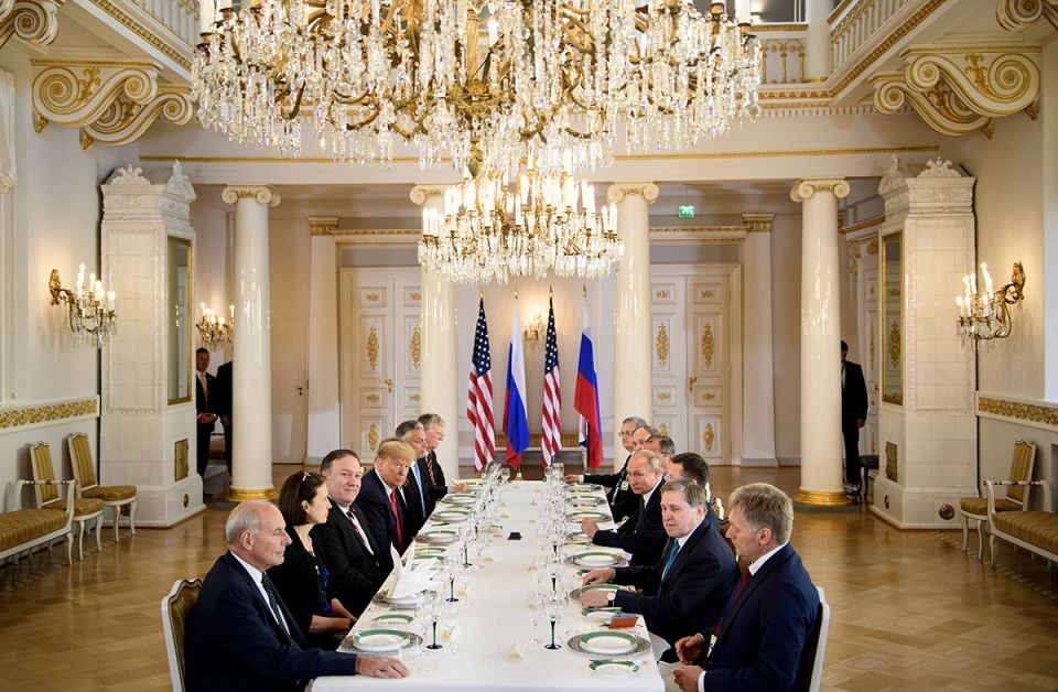 In pictures: Russian President Vladimir Putin and his US counterpart Donald Trump meet in Helsinki
