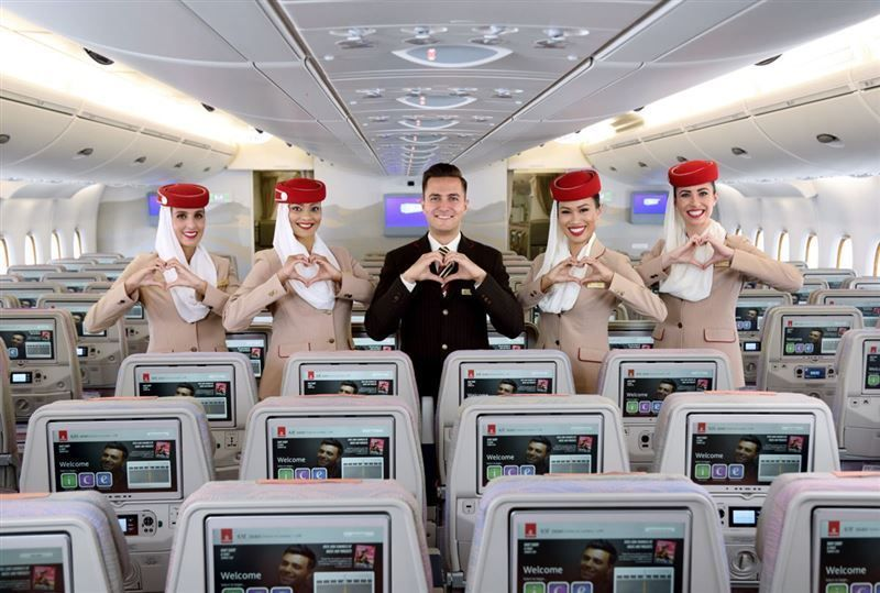Emirates wins Skytrax award for best inflight entertainment for 14th year