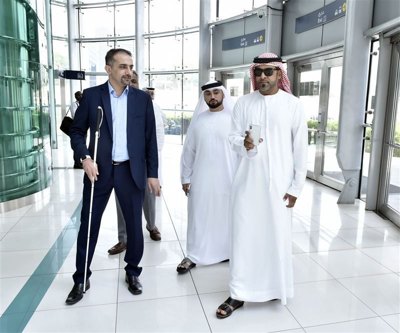 Dubai's RTA launches smart pilot to help blind navigate metro system