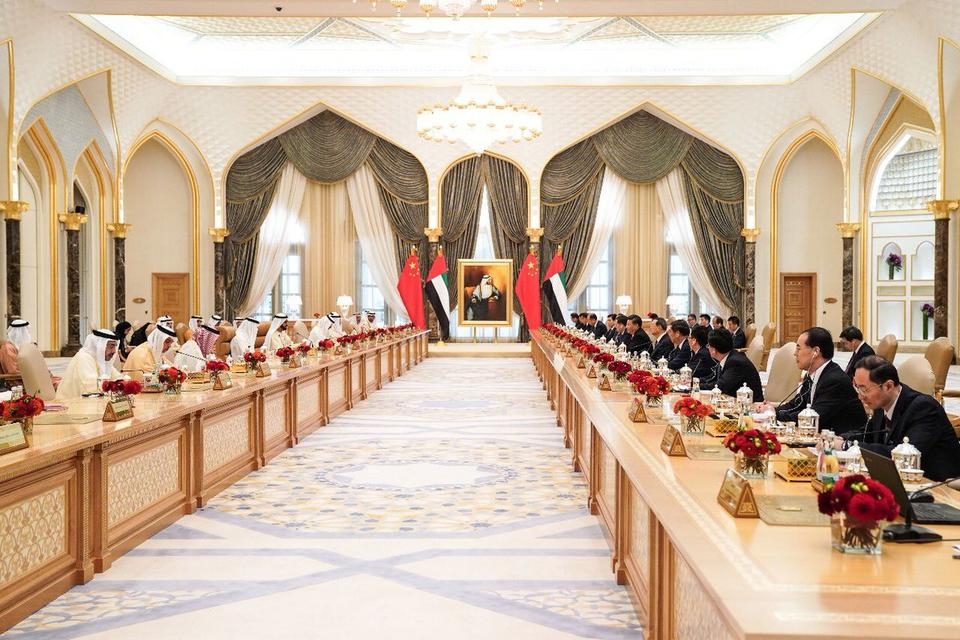 Chinese President ends state visit to UAE with raft of deals signed