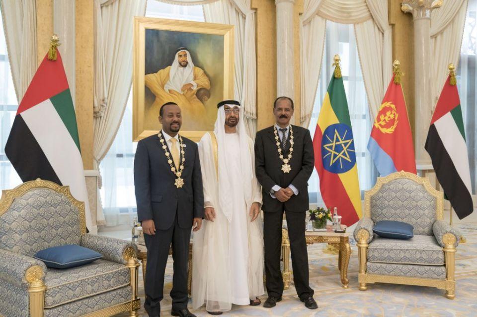 UAE hails Ethiopia and Eritrea for peace deal