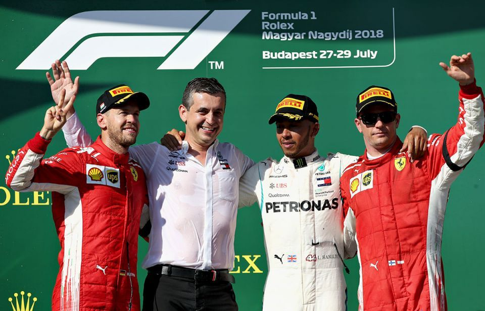 In pictures: British driver Lewis Hamilton wins F1 Hungary Grand Prix to build championship lead