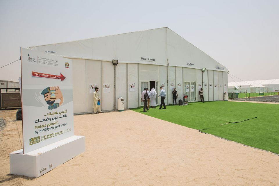 In pictures: Expats arriving at Al Aweer amnesty centre in Dubai