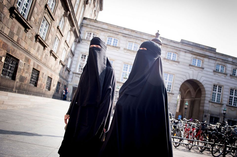 In pictures: First Muslim women in Denmark fined for wearing full-face Islamic veil