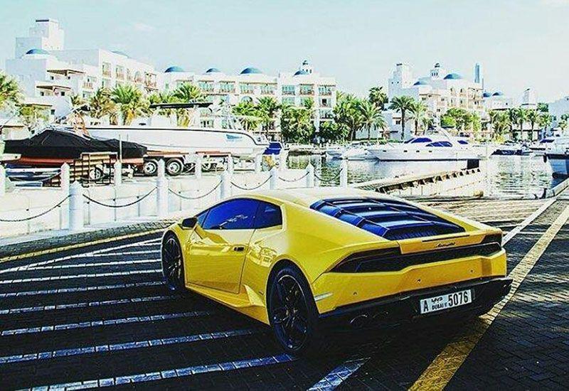 British tourist in Dubai said to agree to pay Lamborghini speeding fine