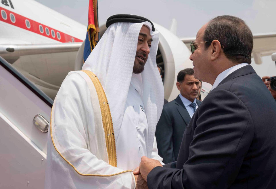 In pictures: Mohamed bin Zayed received by Egyptian President Abdel Fattah el-Sisi in Cairo