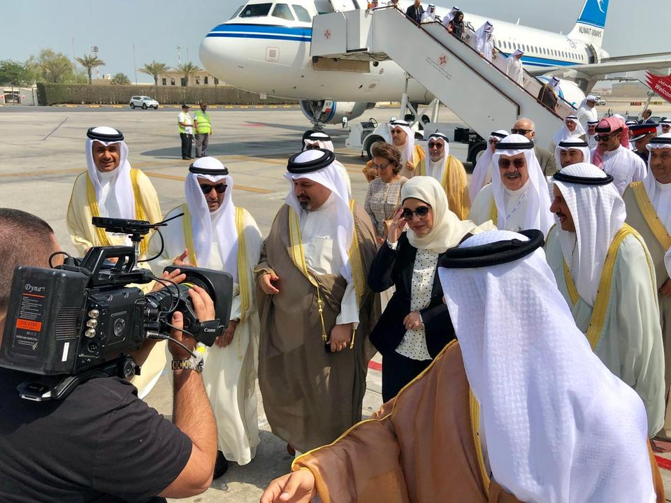 First flight takes off from Kuwait's new airport terminal