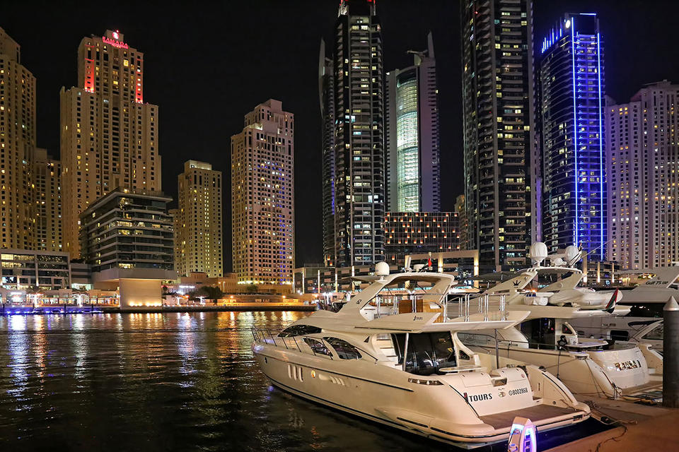 Dubai Marina promenade to close as UAE coronavirus cases hit 333