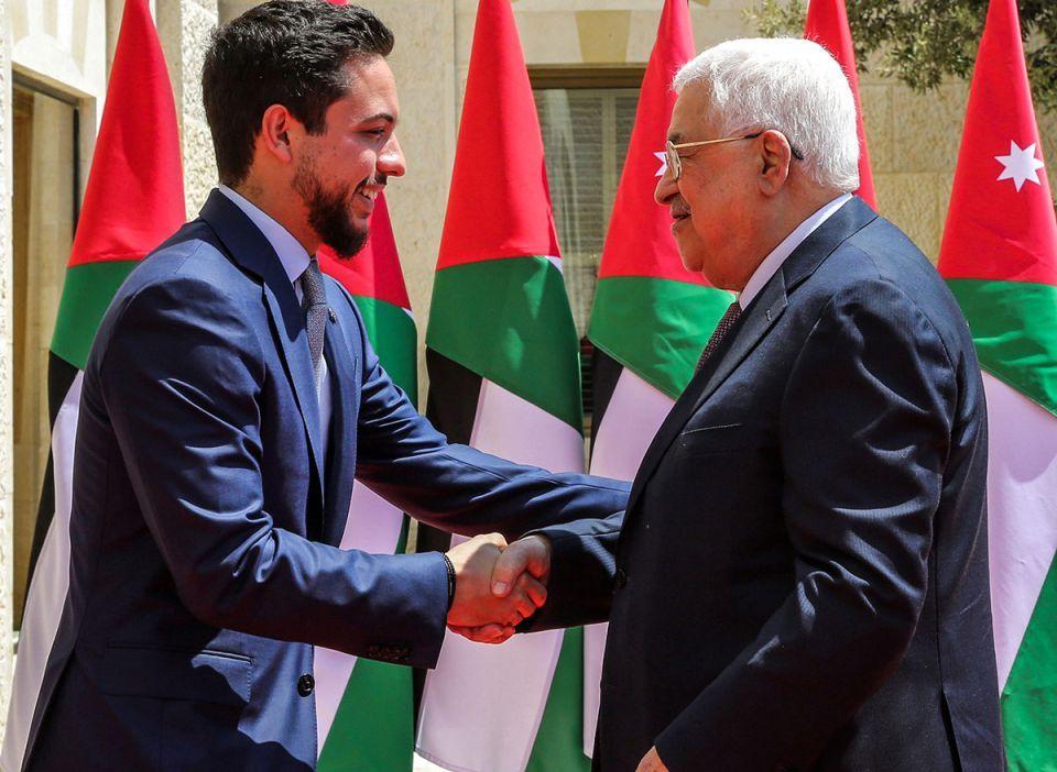In pictures: Palestinian President Mahmoud Abbas meets with King Abdullah II of Jordan at Husseiniya Palace in Amman