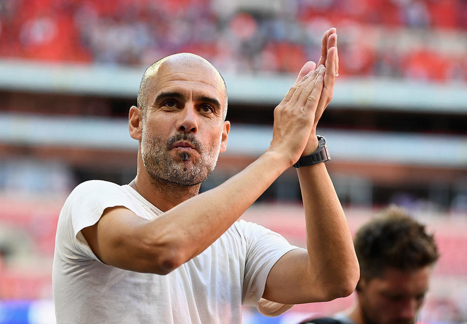 Man City are the Premier League's 'team of the decade', says Guardiola