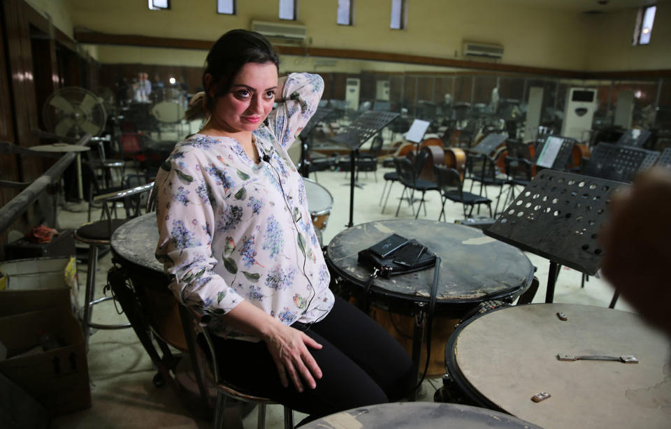 In pictures: Iraq's National Symphony Orchestra plays on despite unpaid wages
