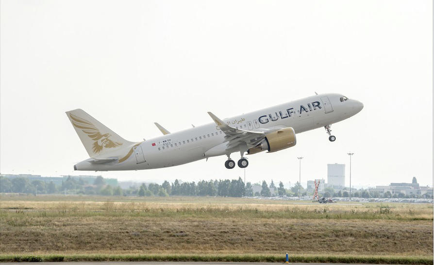 Gulf Air grows fleet with Airbus' widest narrowbody