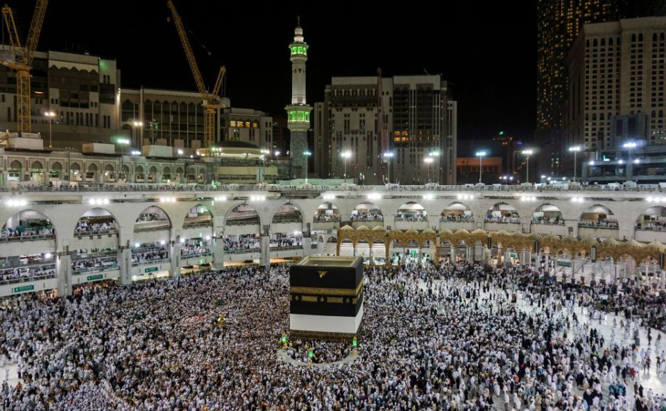 Hajj pilgrims in Saudi holy city outnumber last year