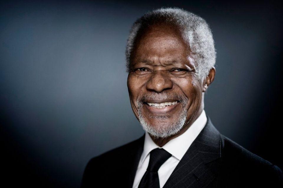 Kofi Annan: 'A guiding force for good'