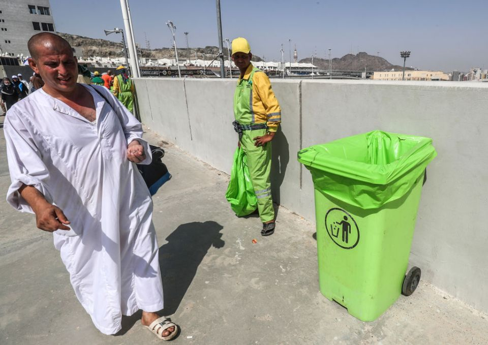 'Green hajj' slowly takes root in Saudi holy city of Makkah