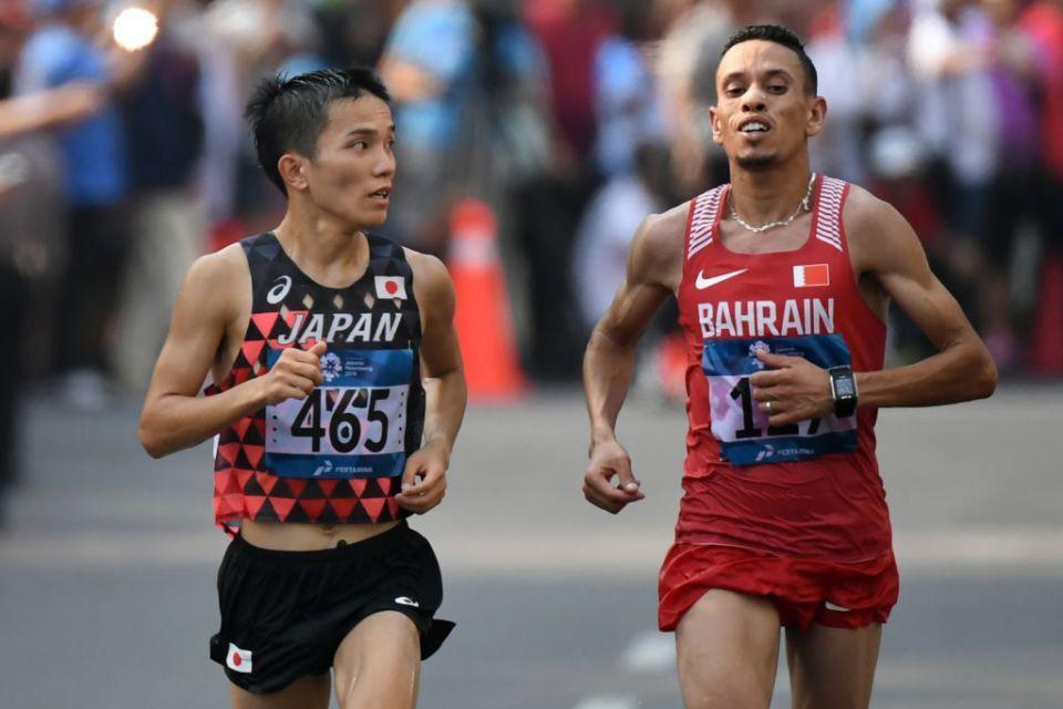 Push claim as Bahrain athlete denied Asian Games marathon gold
