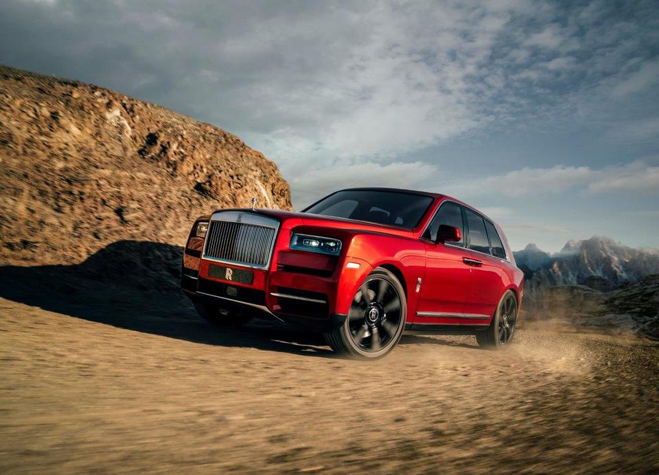 'Strong demand' for Rolls-Royce SUV, says luxury car brand