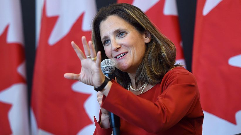 Top Canadian, Saudi officials set to meet to try to diffuse diplomatic row