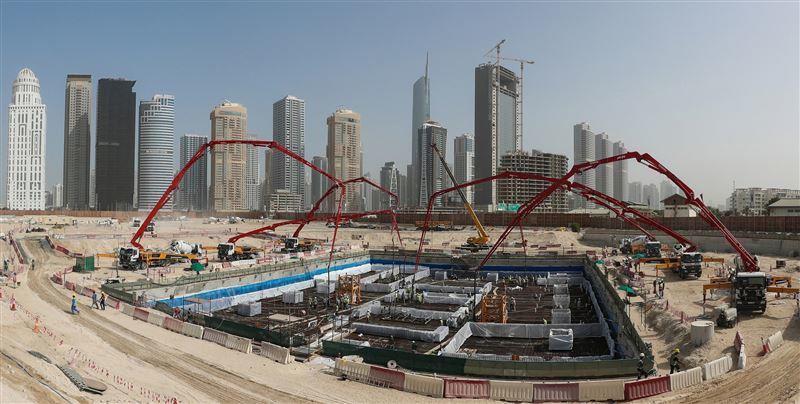 DMCC's first super tall tower set for early 2022 completion