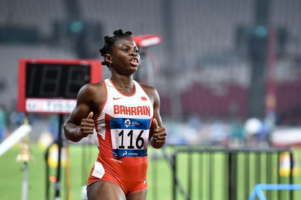 Bahrain athlete wins rare sprint double at Asian Games