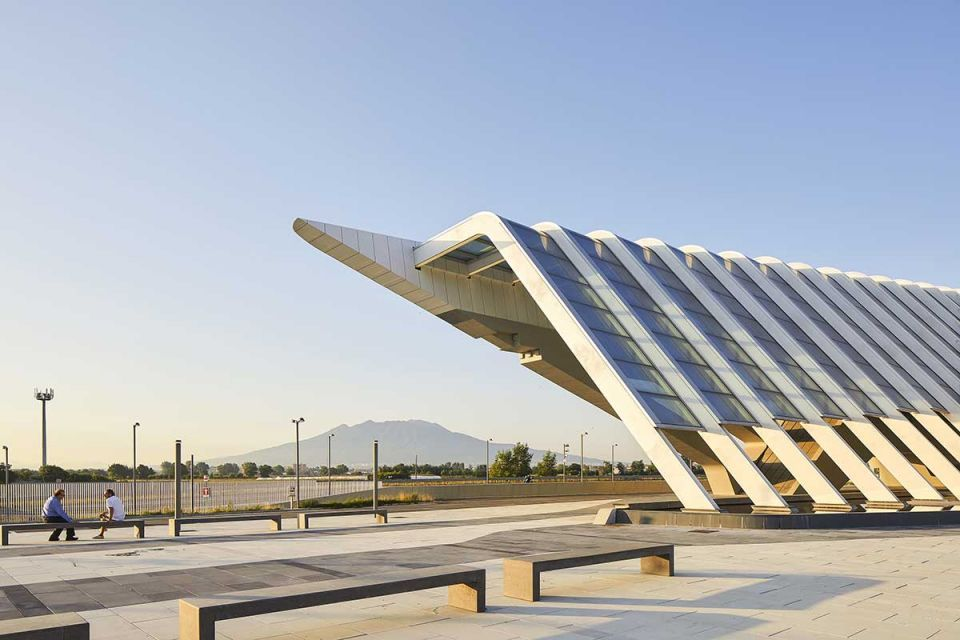 Gallery: ZHA-designed Napoli Afragola train station in Italy