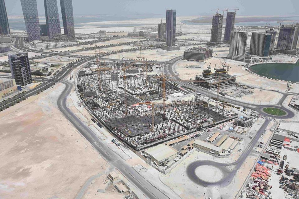 Abu Dhabi's $1.2bn Reem Mall starts to take shape