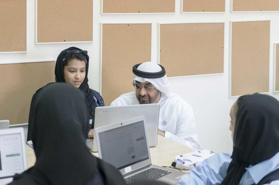 Gallery: Sheikh Mohamed bin Zayed visits Al Asayel School in Khalifa City