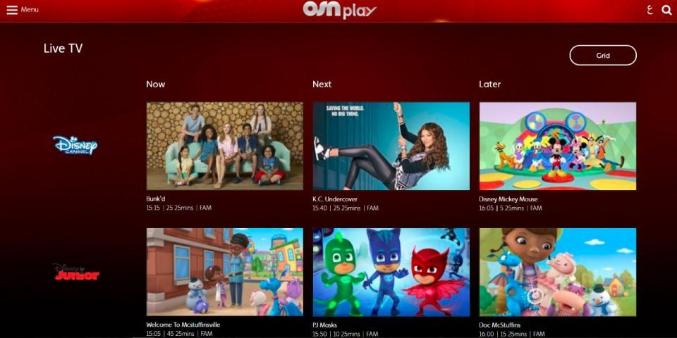 Dubai's OSN adds 24 new live channels to streaming service