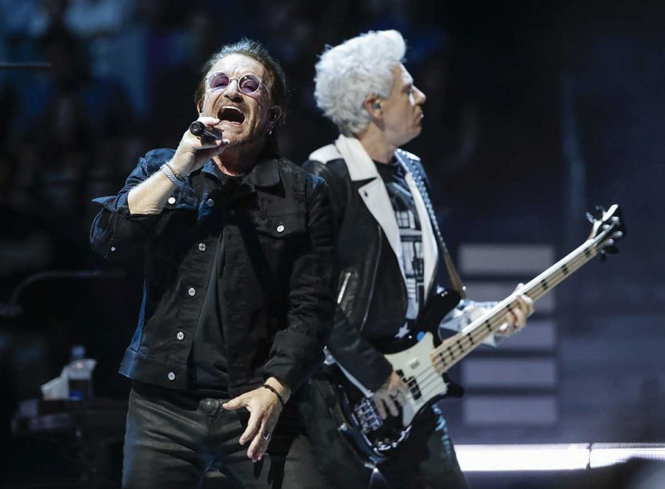 U2 concert in UAE 'not going to happen' this year, says Flash Entertainment CEO