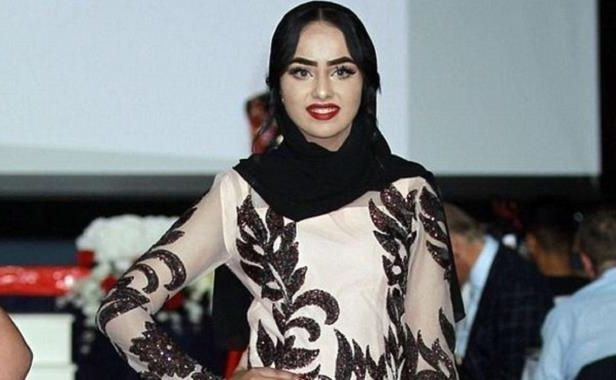 Miss England contestant Sara Iftekhar in hijab first