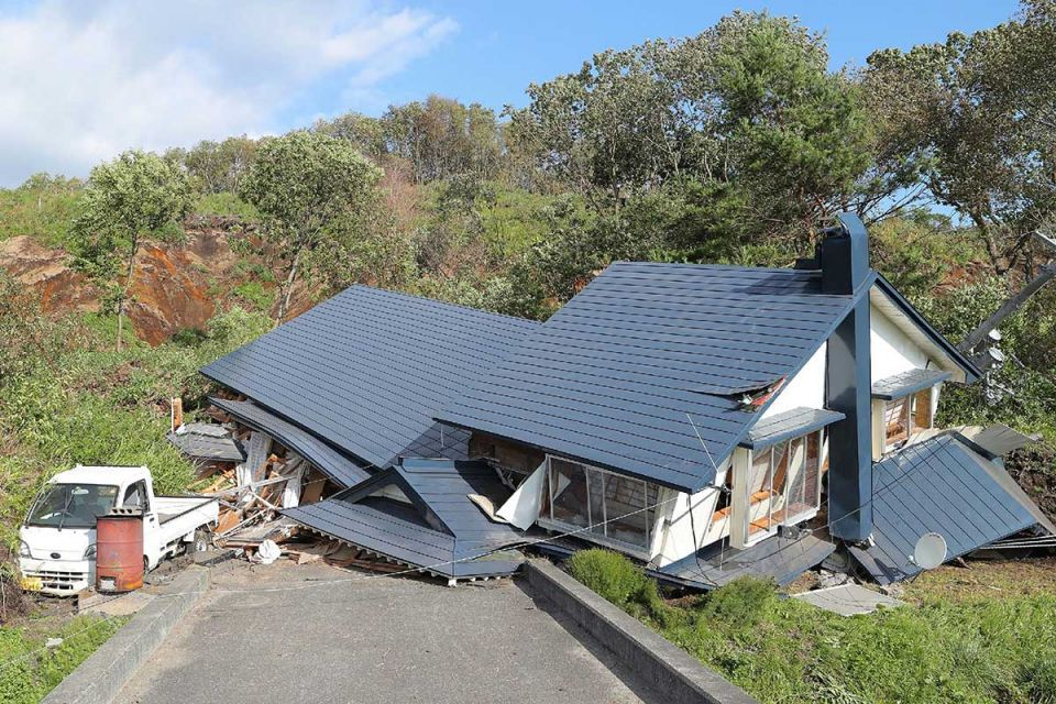 In pictures: Powerful earthquake rocked Japanese island of Hokkaido