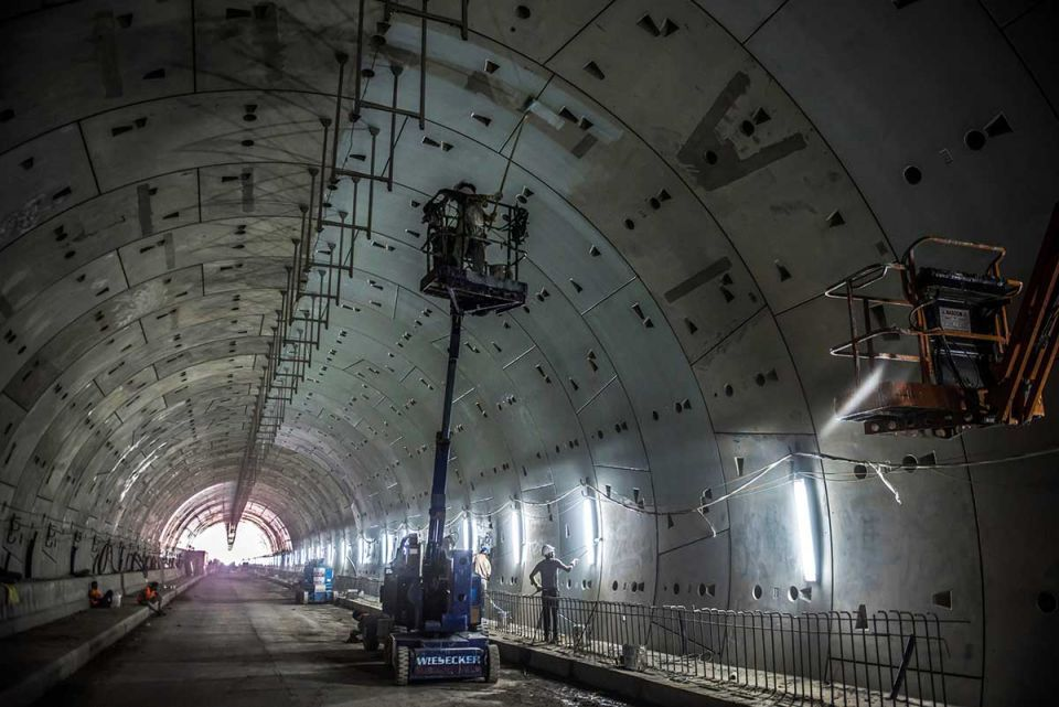 In pictures: Twin-tube tunnels beneath the Suez Canal