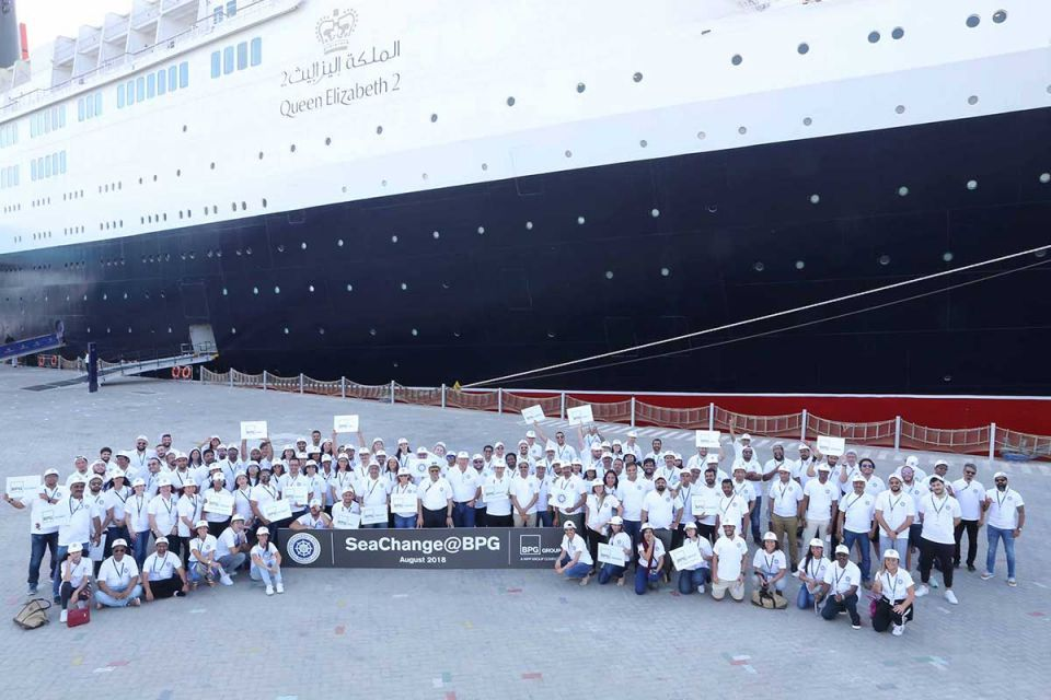 BPG Group celebrates 25th company off-site in the iconic surroundings of the QE2 in Dubai