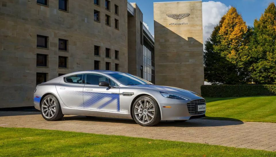 Kuwait-backed Aston Martin to make first all-electric car by end of 2019