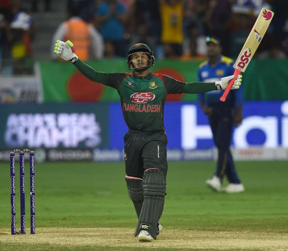 Asia Cup 2018: Ton-up Mushfiqur helps Bangladesh thump Sri Lanka