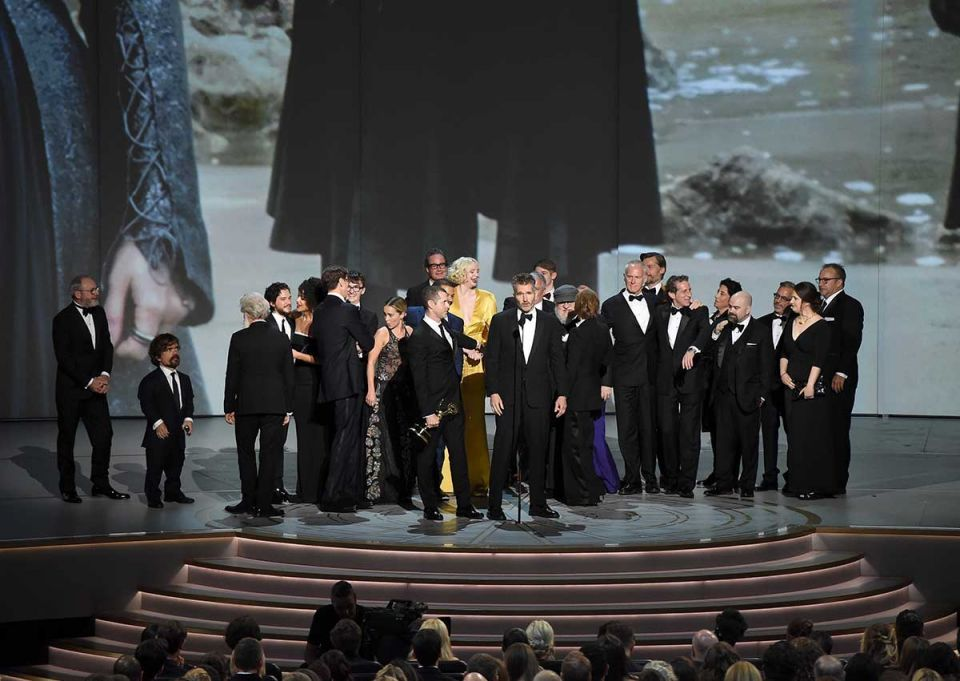 'Game of Thrones' wins coveted best drama series at the Emmys