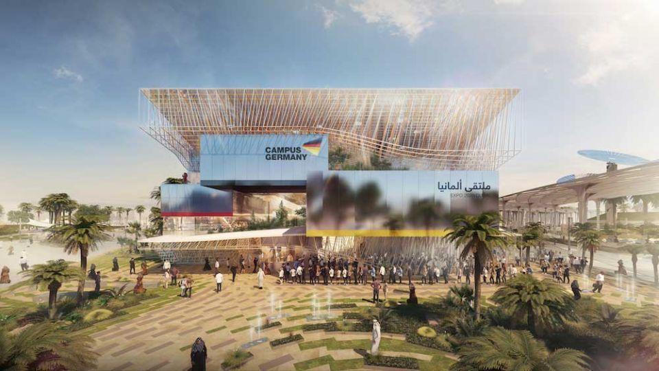 Germany unveils high-tech Expo 2020 Dubai pavilion