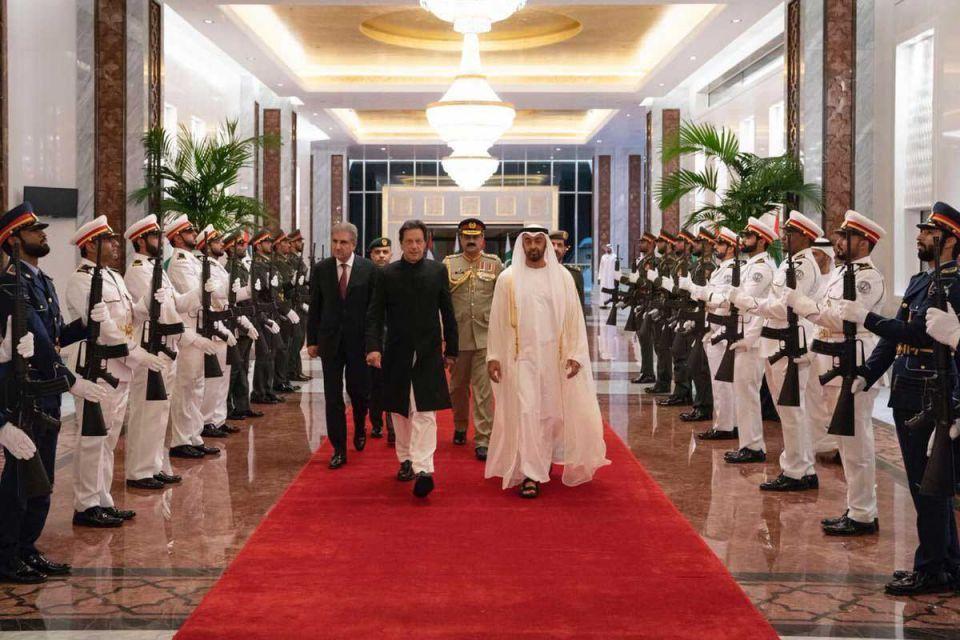 Imran Khan discusses UAE bilateral ties on official trip in Abu Dhabi