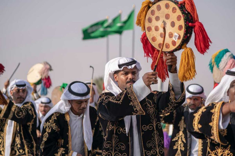 Gallery: Crown Prince of Abu Dhabi attends camel festival in Taif