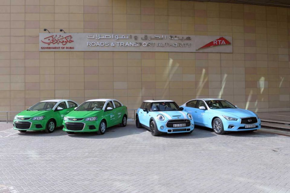 RTA doubles its smart car rental fleet