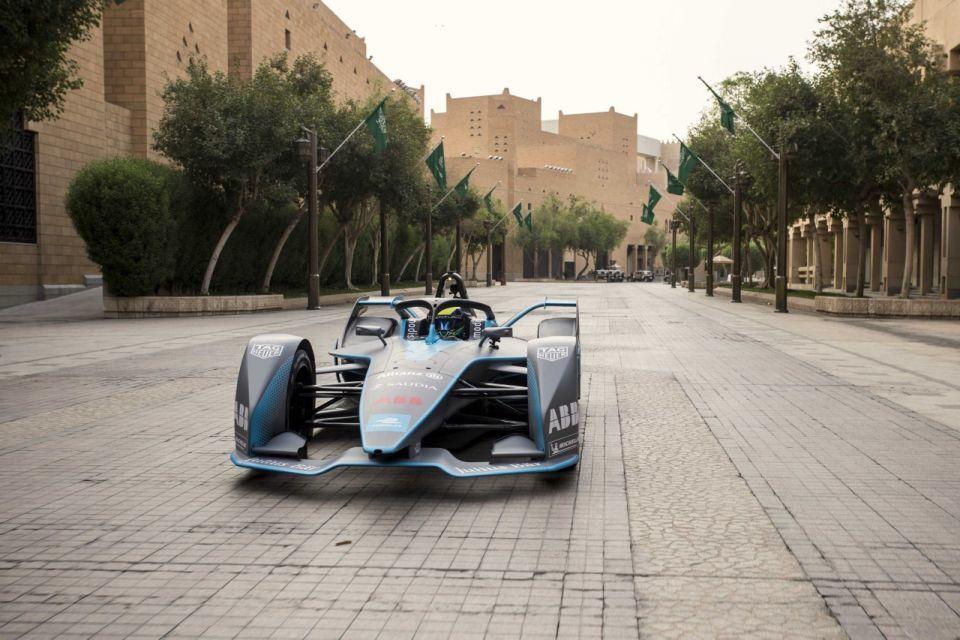 Saudis transform ancient site into Formula E race track