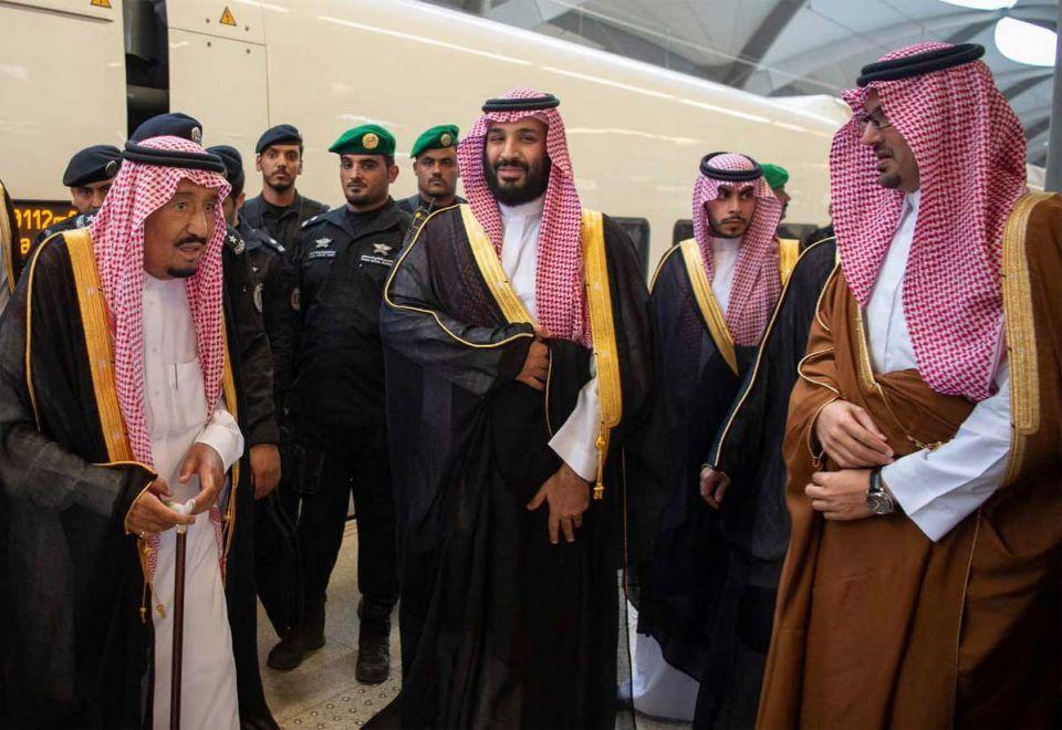 In pictures: Saudi Arabia's King Salman inaugurates Haramain High Speed Rail