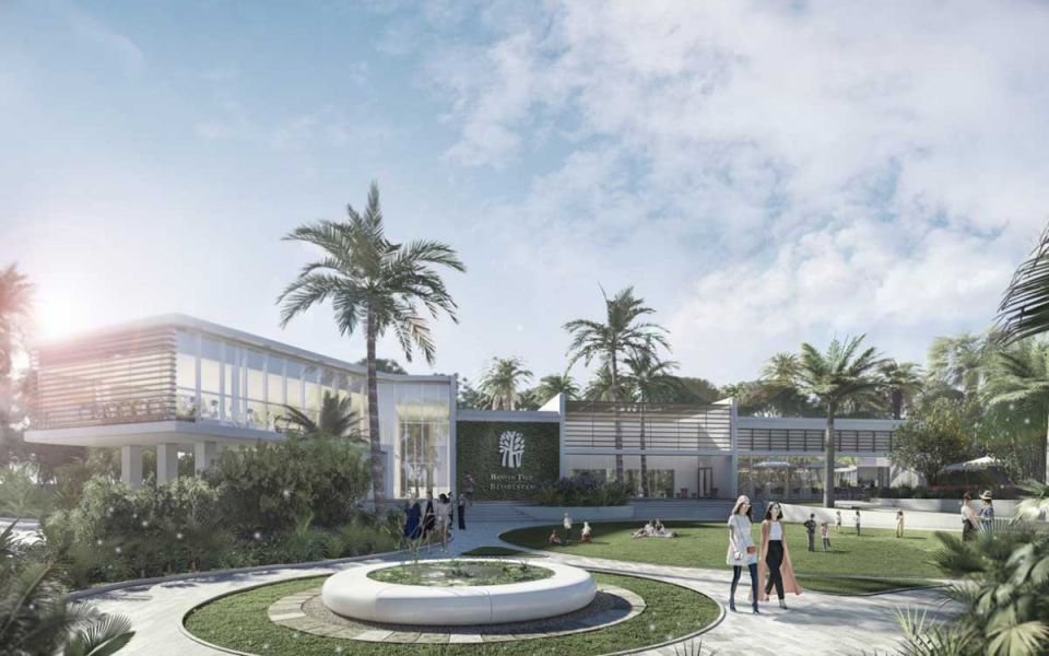 Promoting well-being through greenery, water and light design