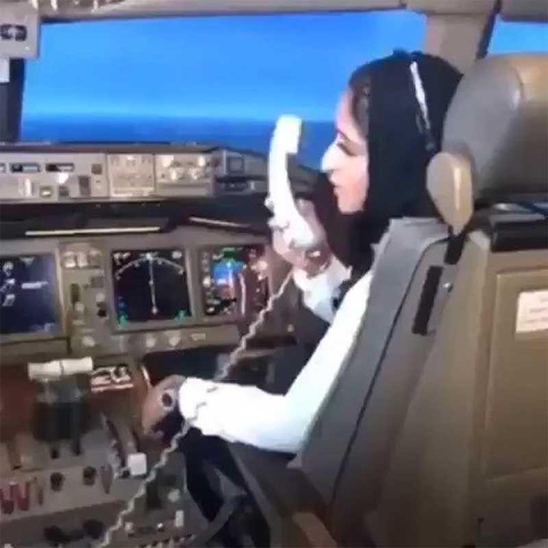 Dubai princess flies Emirates plane to Italy